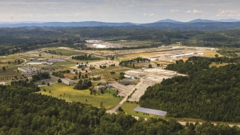 A view of the East Tennessee Technology Park after cleanup was completed at the former uranium enrichment complex this year. The work was completed four years ahead of schedule, saving taxpayers $500 million.