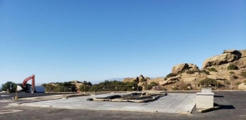 All waste has been removed from the site of EM's 10th and final building demolition at the Energy Technology Engineering Center (ETEC) Radioactive Materials Handling Facility complex earlier this month.