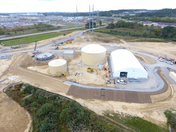 Portsmouth Site Installs Water Treatment System for Disposal Facility