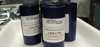 Vials of Certified Testing Material