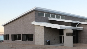 The Mercury Modernization Building 1 at NNSA's Nevada National Security Site (NNSS) is the first building complete of the site's Mercury Modernization program and serves as a pilot infrastructure initiative of standardization and efficiency.