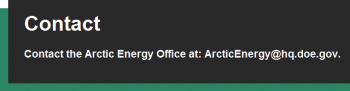Arctic Energy Office email address graphic
