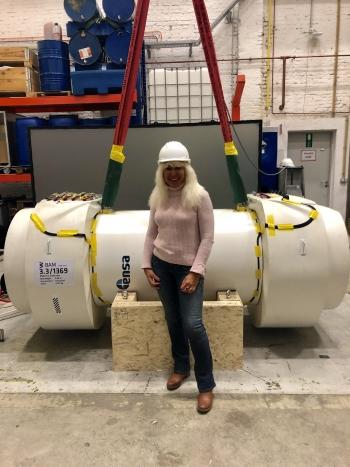 Elena Kalinina has been at Sandia National Laboratories for nine years.