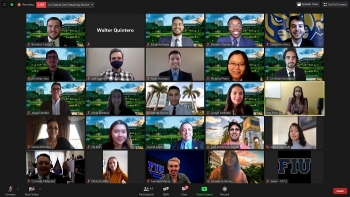 DOE and Florida International University (FIU) officials recently introduced FIU science, technology, engineering, and math (STEM) students as the new DOE Fellows Class of 2020 in a virtual ceremony.