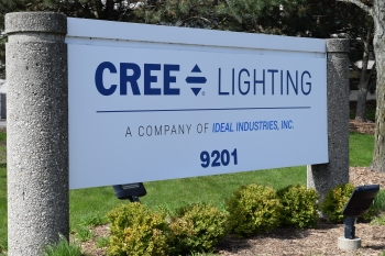 Cree Lighting, a Company of IDEAL INDUSTRIES, Inc. Photo courtesy of  Cree Lighting