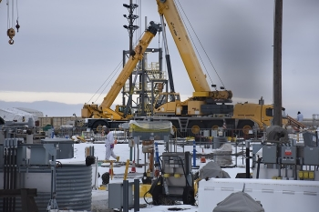 EM Office of River Protection contractor Washington River Protection Solutions recently began retrieving waste from single-shell tank AX-104 at the Hanford Site. The waste is being transferred to a more robust double-shell tank for safe storage.
