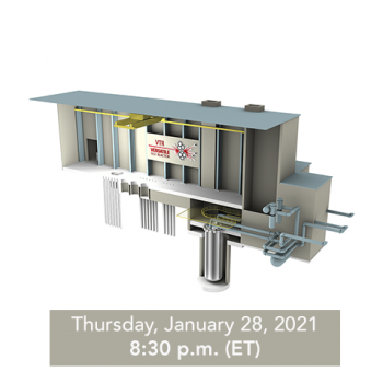 Draft Versatile Test Reactor EIS public hearing notice - January 28
