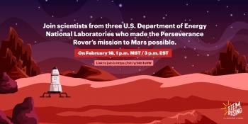 STEM Rising is hosting Countdown to Mars Feb 16 at 1 p.m. MST