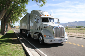 KCNSC New Mexico Operations supports the repairs and refurbishments of secure semi-trailers for the NNSA's Office of Secure Transportation.