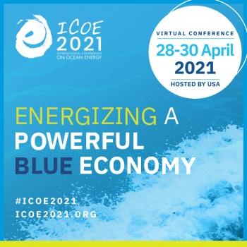 ICOE logo with event dates.