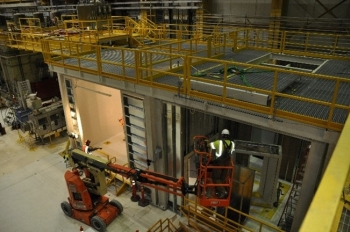 EM Richland Operations Office contractor Central Plateau Cleanup Company recently selected a subcontractor to continue to modify the Waste Encapsulation and Storage Facility (WESF) and install new equipment.