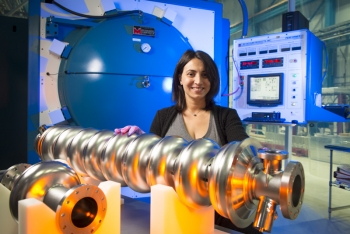 Scientist Anna Grassellino is the director of the National Superconducting Quantum Materials and Systems Center at Fermilab.