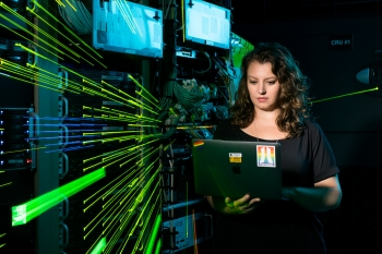 Fermilab scientist Kirsty Duffy studies mysterious particles called neutrinos.