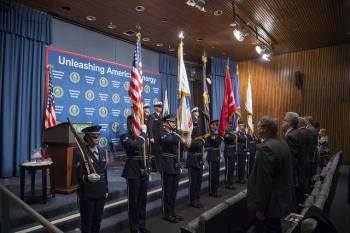 Veterans Day Special Observance program, November 13, 2018