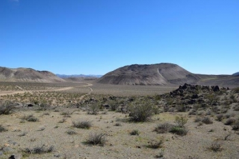 West Flank of Coso, California