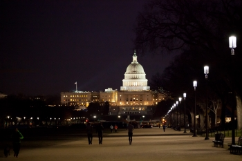 2. LED Lights on the National Mall