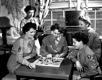 WAACs Taking A Break With A Game of Chinese Checkers