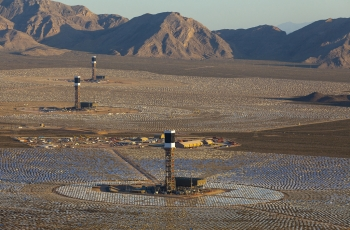 Aerial view, Ivanpah