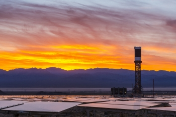 Sunrise at Ivanpah