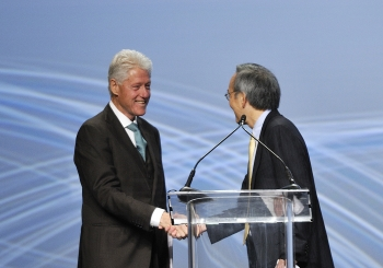 5. President Clinton and Secretary Chu at the ARPA-E Summit