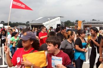 STEM education days at Solar Decathlon