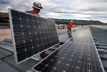 7. Solar Panels at NREL in Golden, Colorado