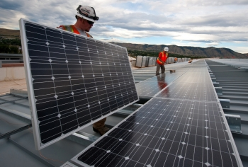 7. Solar Panels at NREL in Golden, Colorado