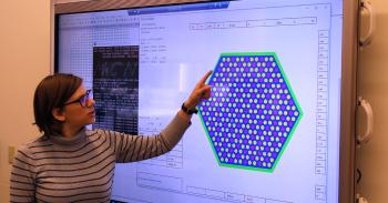 Anna Biela presents an image of a prismatic block reactor
