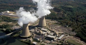 Beaver Valley Nuclear Power Plant in Pennsylvania.