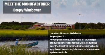 Manufacturer: Bergey Windpower