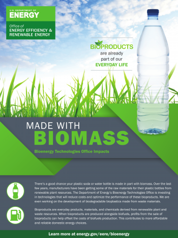 Made with Biomass: Plastic Bottles