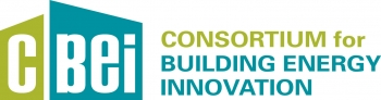 The logo for the Consortium for Building Energy Innovation.