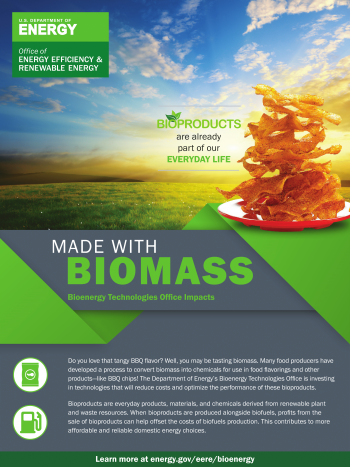 Made with Biomass: Food Flavoring