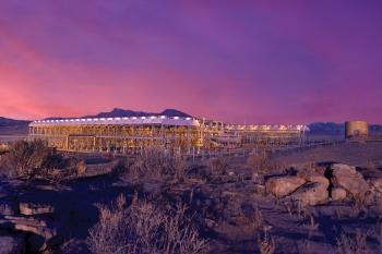 Salt Wells Geothermal Plant in Nevada