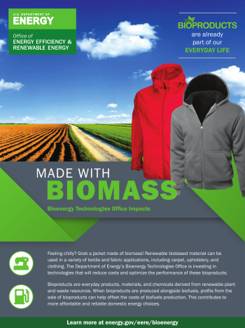 Made with Biomass: Textiles and Fabrics