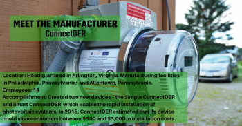 Manufacturer: ConnectDER