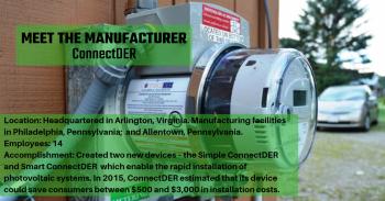 Manufacturer: ConnectDER