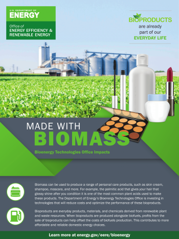 Made with Biomass: Personal Care Products