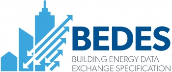 The BEDES logo, which links to https://www.energy.gov/eere/buildings/building-energy-data-exchange-specification-bedes.
