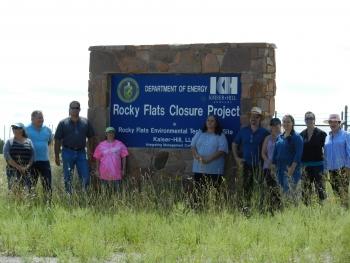 Rocky Flats Site Closure Tour