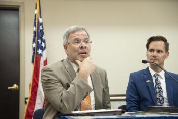 Panelist Neil Schuldenfrei speaking
