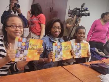 Energy Literacy reaches EmPowerGirlz Program at YWCA NCA.