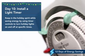 Day 10: Install a Light Timer