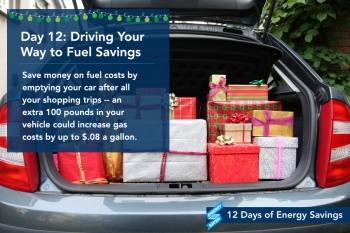 Day 12: Drive Your Way to Fuel Savings
