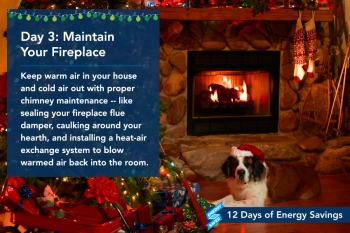 Day 3: Maintain Your Fireplace