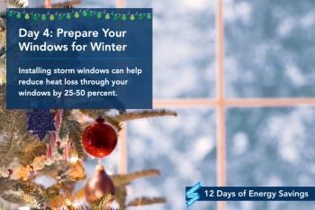 Day 4: Prepare Your Windows for Winter