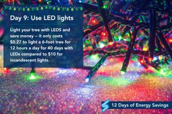 Day 9: Use LED Lights