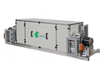 Diagram of enVerid Systems - HVAC Load Reduction, technology demonstration.