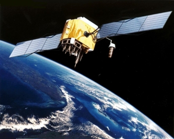 Artist rendition of GPS Satellite