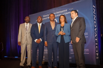 September 17, 2018, during the White House Initiative's HBCU Week conference